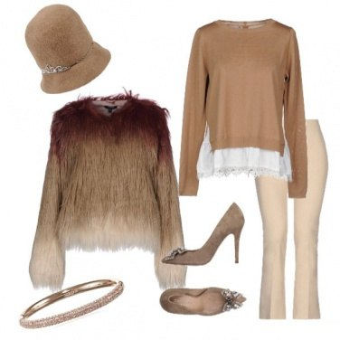 Outfit Total beige