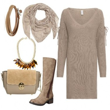 Outfit Beige low cost