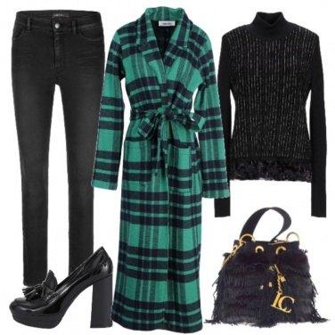 Outfit Soprabito scozzese