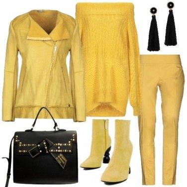 Outfit Tutto giallo