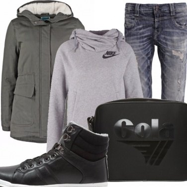 Outfit I love parka