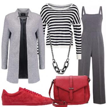 Outfit Tuta e cappottino