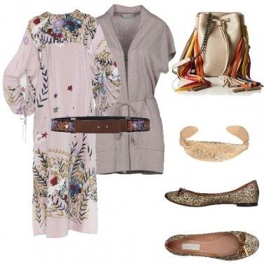 Outfit Maxidress e ballerine