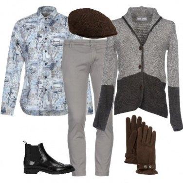 Outfit Camicia fantasia