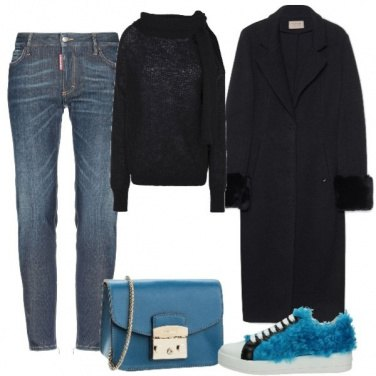 Outfit Sneakers pelose