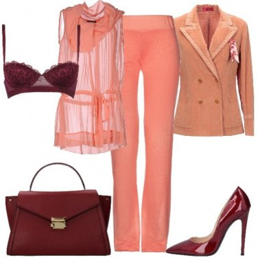 Outfit Living Coral