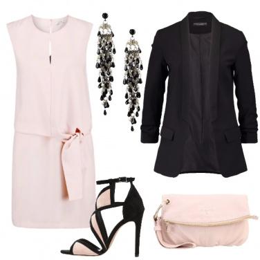 Outfit Rosè ed eleganza
