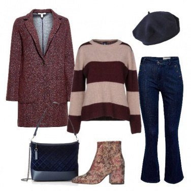Outfit Broccato casual