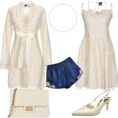 Outfit X Sposa: color avorio, e qualcosa di blu