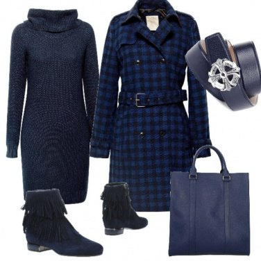 Outfit Cappottino scozzese