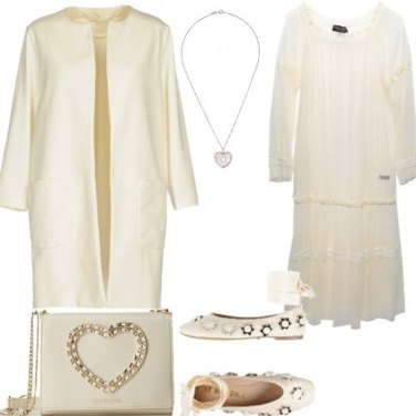 Outfit Sposa Easy: col cuore in mano