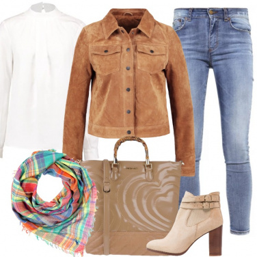 Outfit Mai senza foulard