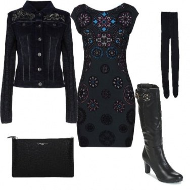 Outfit Desigual in black
