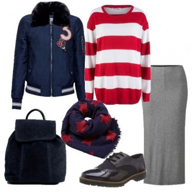 Outfit Stelle e strisce