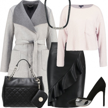 Outfit Grinta e morbidezza