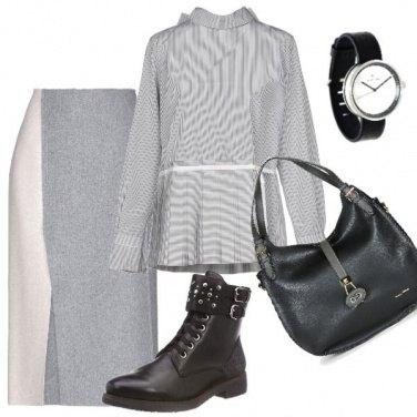 Outfit Gli anfibi....con la gonna