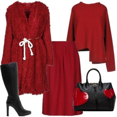 Outfit Totally Red
