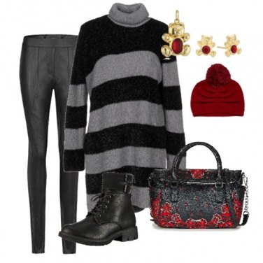 Outfit Con gli anfibi per la città