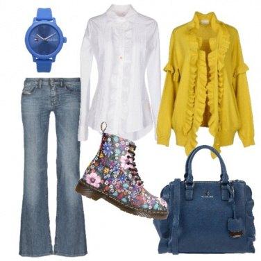 Outfit L\'anfibio floreale