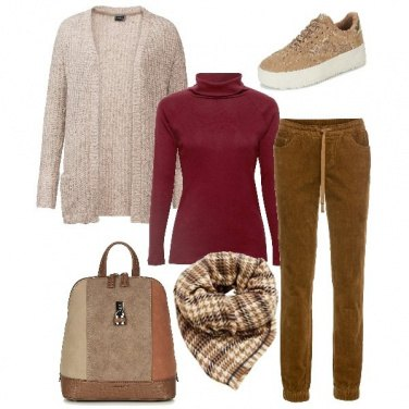 Outfit Semplice relax
