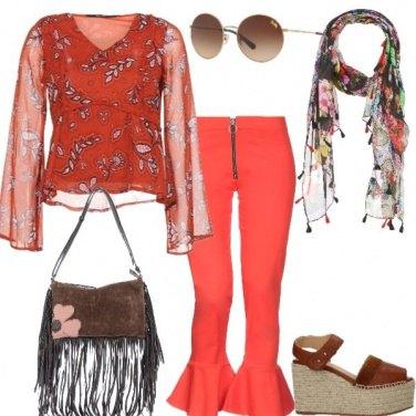 Outfit Zampa, Zeppa, Fiori