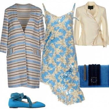 Outfit Accessori Di velluto bicolore
