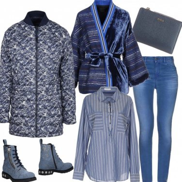 Outfit Ripararsi dal freddo : strati luminosi