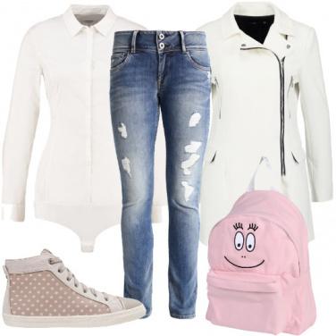 Outfit Simpatico bianco