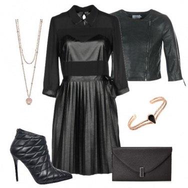 Outfit Abito plissé