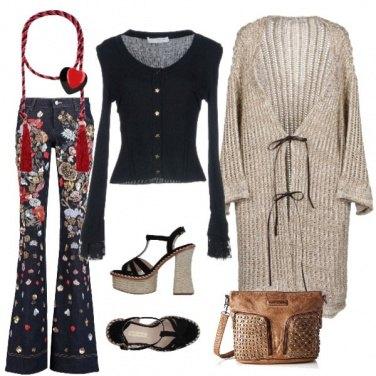 Outfit Serata bohémien