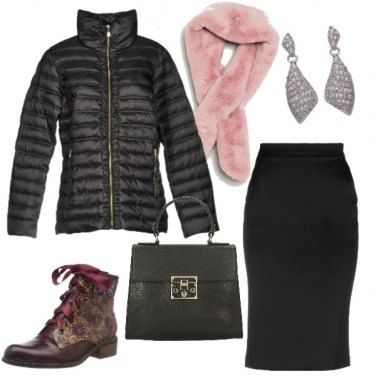 Outfit Anfibi chic