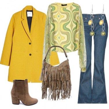 Outfit Alla festa anni 70