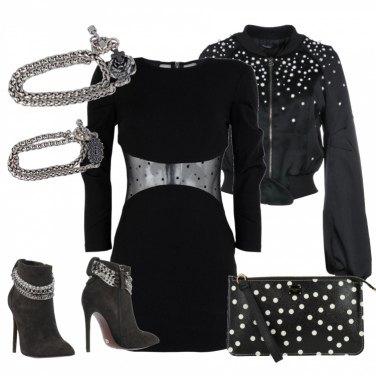 Outfit Rock sofisticato