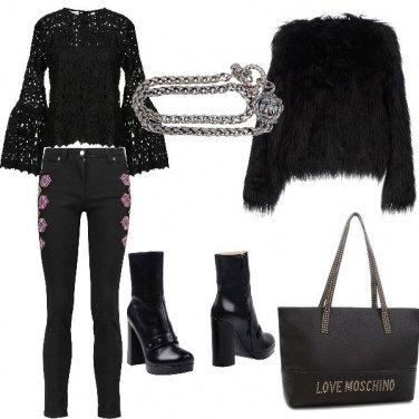 Outfit Rock di sera