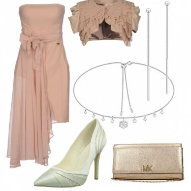 Outfit Romantico chic