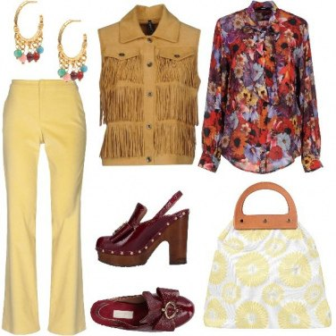 Outfit Un party in 70\'S Style