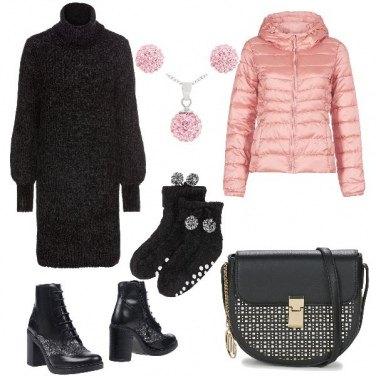 Outfit Pon pon contro il freddo