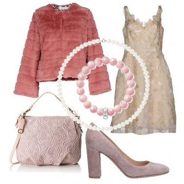 Outfit Festa in rosa