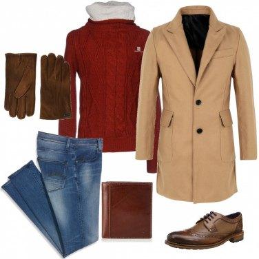 Outfit Cappotto ed è subito glam