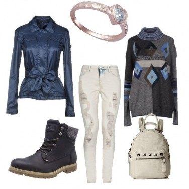 Outfit Raffinato metropolitano