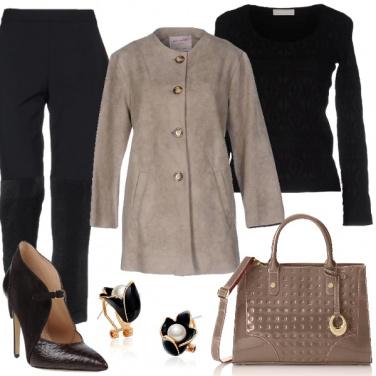 Outfit Di gran classe con lo chignon