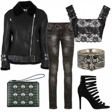 Outfit Rock and sexy