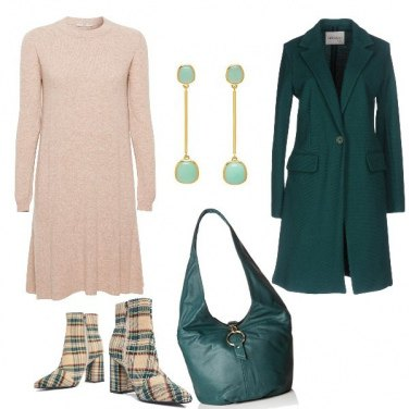 Outfit Lo stivaletto in tartan