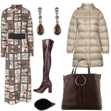 Outfit Chemisier anche in inverno