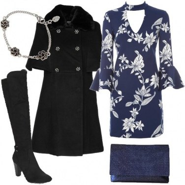 Outfit Floreale d\'inverno