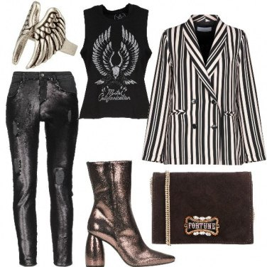 Outfit Un volo Rock