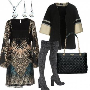 Outfit Tra etnico e vintage