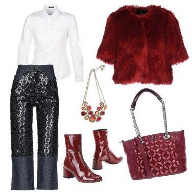 Outfit Il jeans elegante