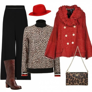 Outfit Stampa animalier