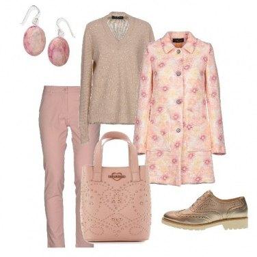 Outfit Le sfumature del rosa